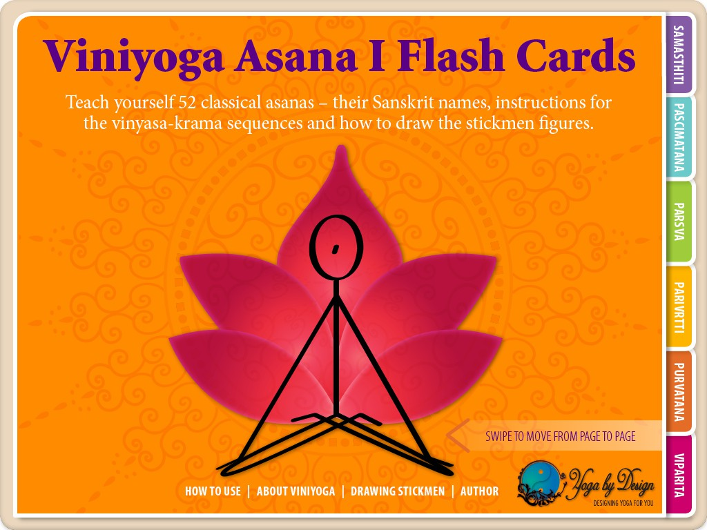 Viniyoga Asana I ebook Cover