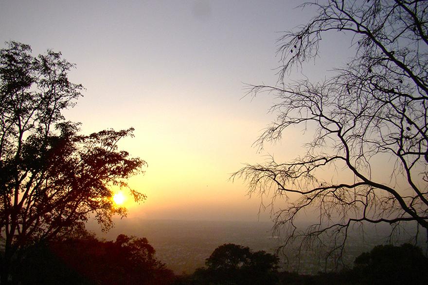 View of Mysore from Chamundi Hill