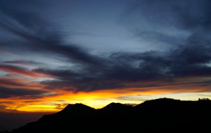 Sunrise at Mountain Top Ayurvedic Clinic