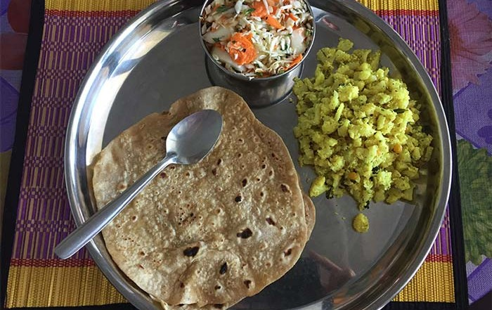 One of my favourite ayurvedic lunches during my panchakarma
